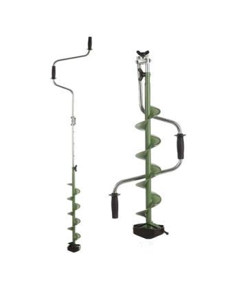 "Ледобур Mora Expert-Pro Series 110mm/4"" Foldable Green"