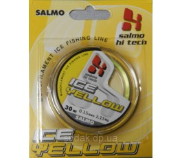 Леска Salmo Hi-tech ICE YELLOW 30м 0,20мм 3,85кг
