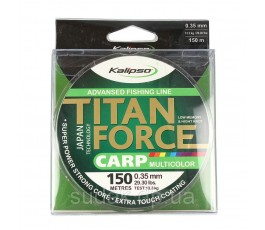 Леска Kalipso Titan Force Carp MC 150м 0.35мм